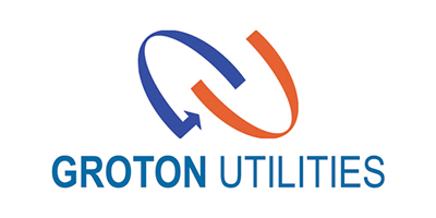 logo for Groton Utilities and Bozrah Electric